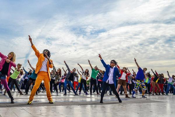 De leukste activiteit met de flashmob workshop i n Gent!