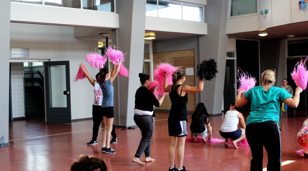 Slide 1: Workshop Cheerleading